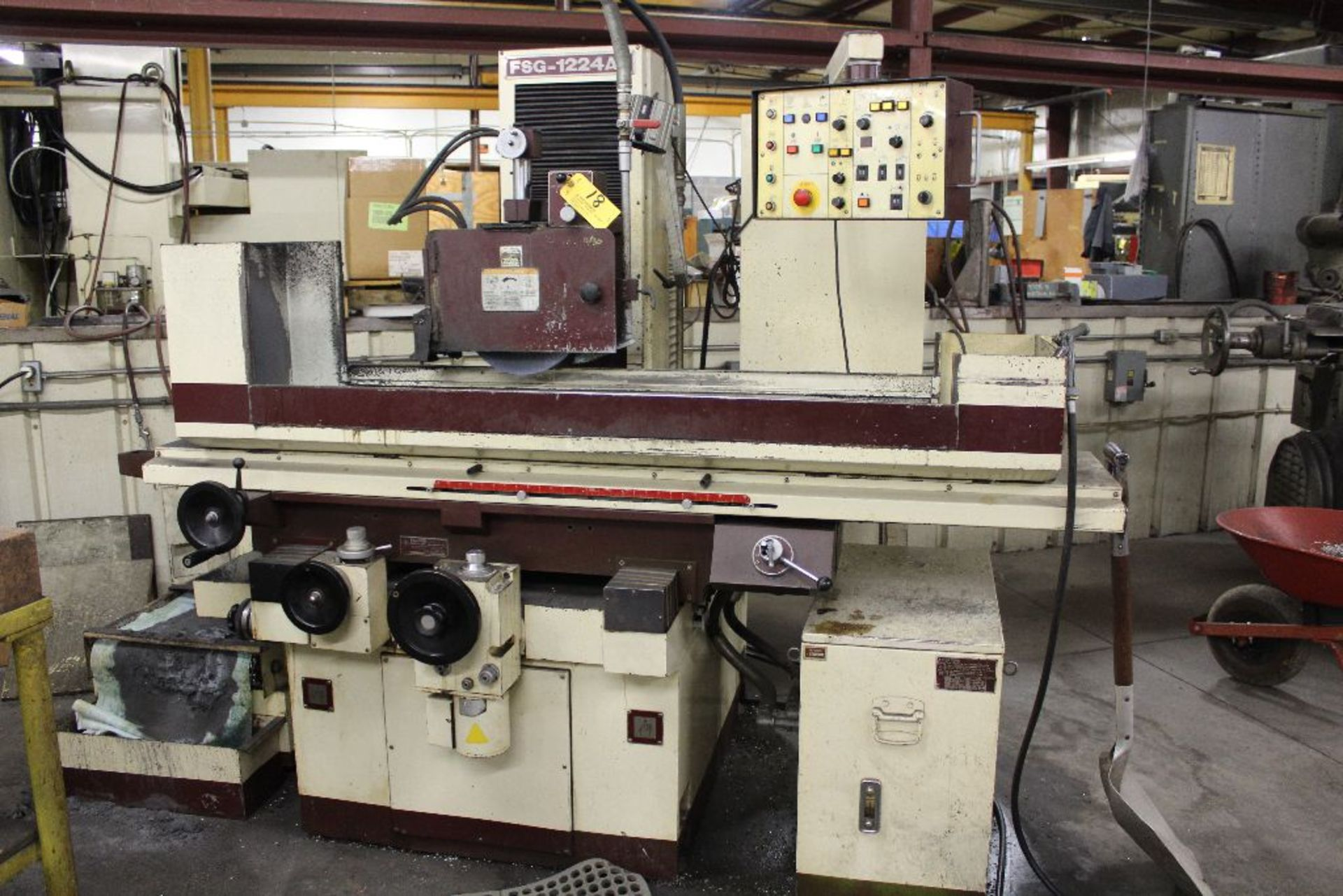 """Lot 018 - Chevalier Surface grinder, model FSG-1224AD, sn F1871004, 16 x 32"""", magnetic chuck 24"""" x 12""""."""