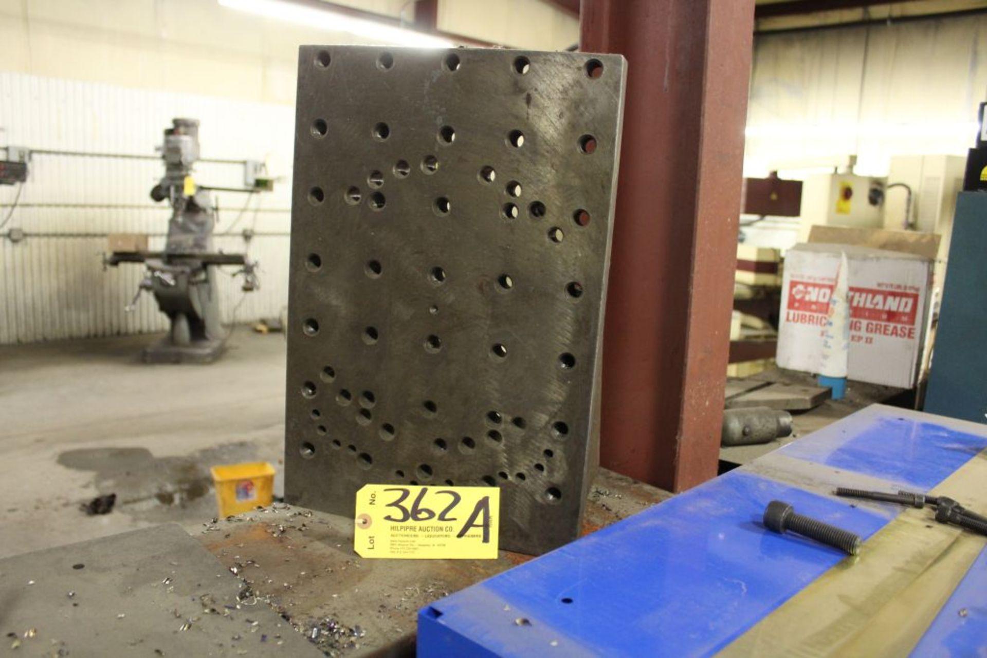 """Lot 362A - Angle plate, 18"""" x 12""""."""