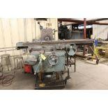 "K & T No. 3 horizontal milling machine, model 315, sn 5-8007, 64"", 15 hp."
