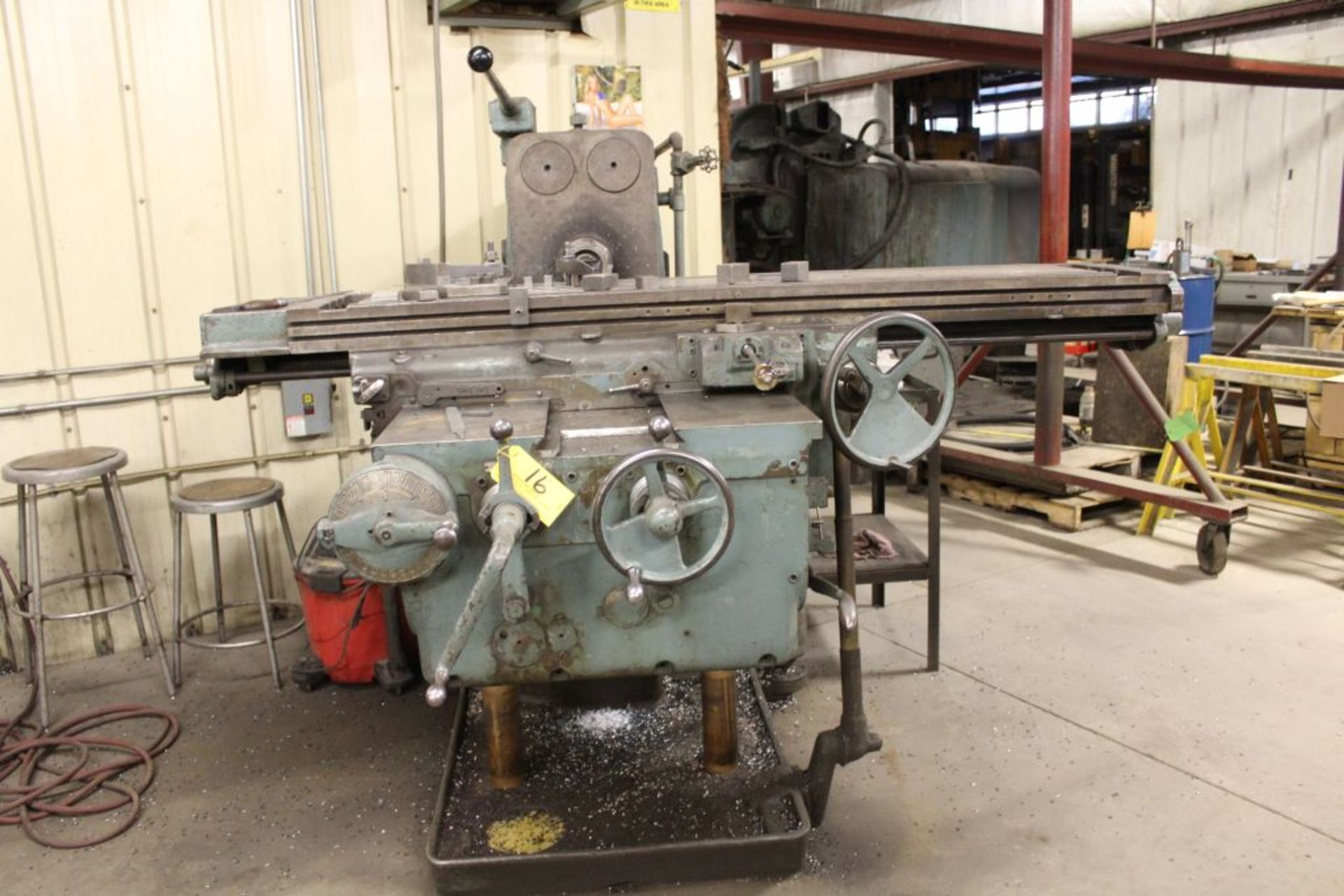 "Lot 016 - K & T No. 3 horizontal milling machine, model 315, sn 5-8007, 64"", 15 hp."