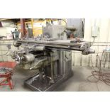"""K & T horizontal #3 milling machine, No . 4 plain, model H, sn 14-3709, 48"""". Sells with owners"""