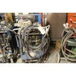 Miller Synowave 250 tig welder, sn K0819984, Miller 1A cooling system, foot control.