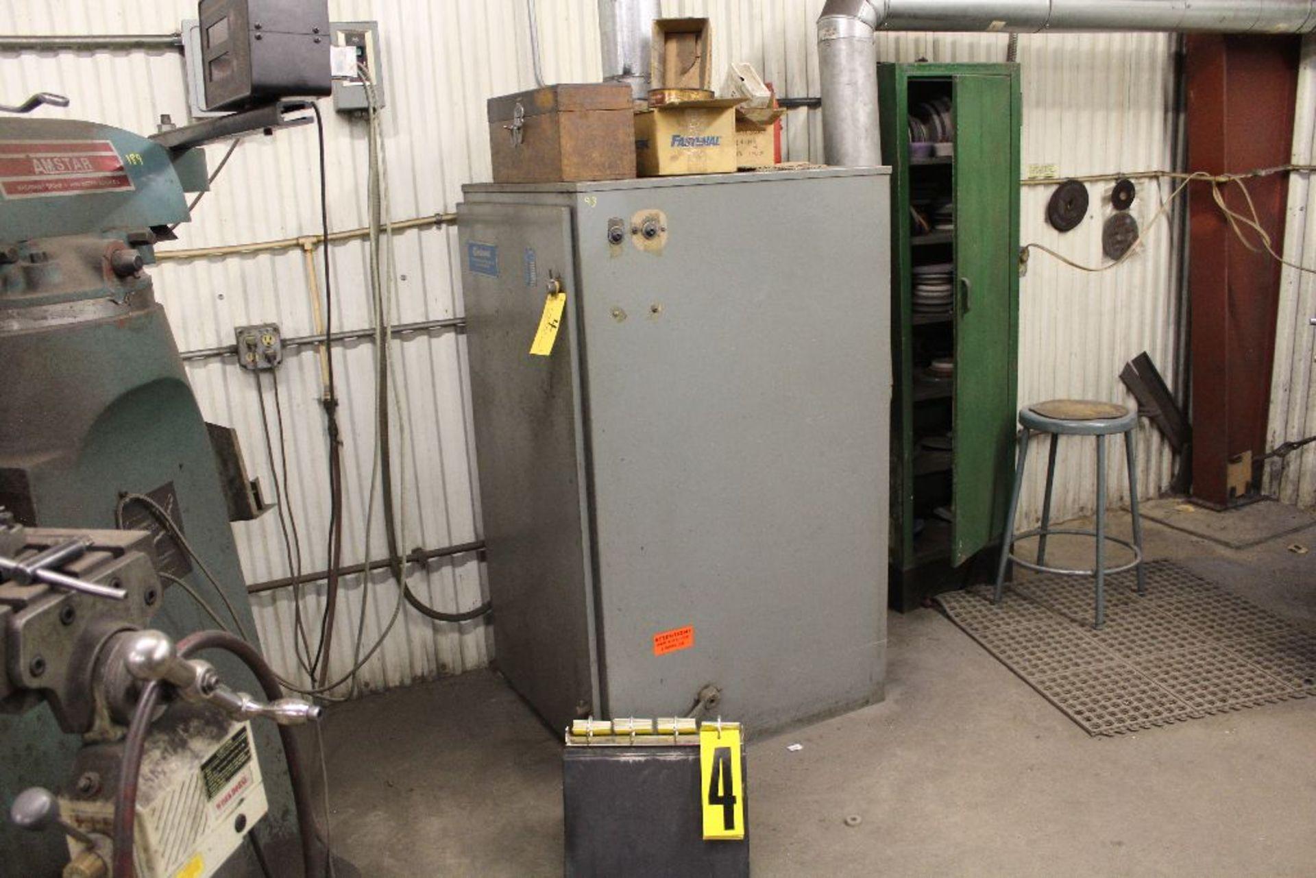 Lot 004 - Cincinnati filter system, model 101, 3 phase.