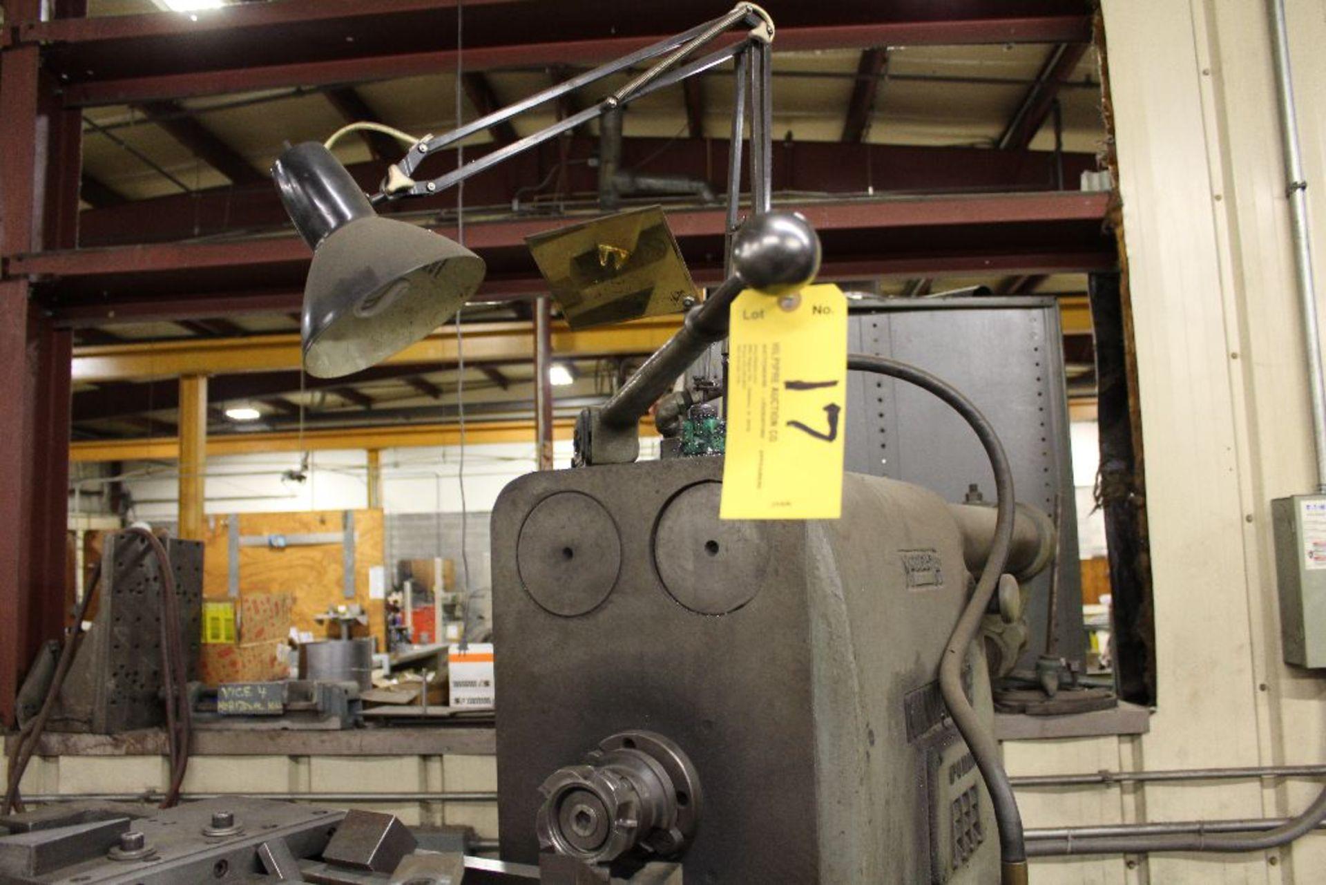 "Lot 017 - K & T No. 3 horizontal milling machine, model 315, sn 5-8007, 64"", 15 hp."