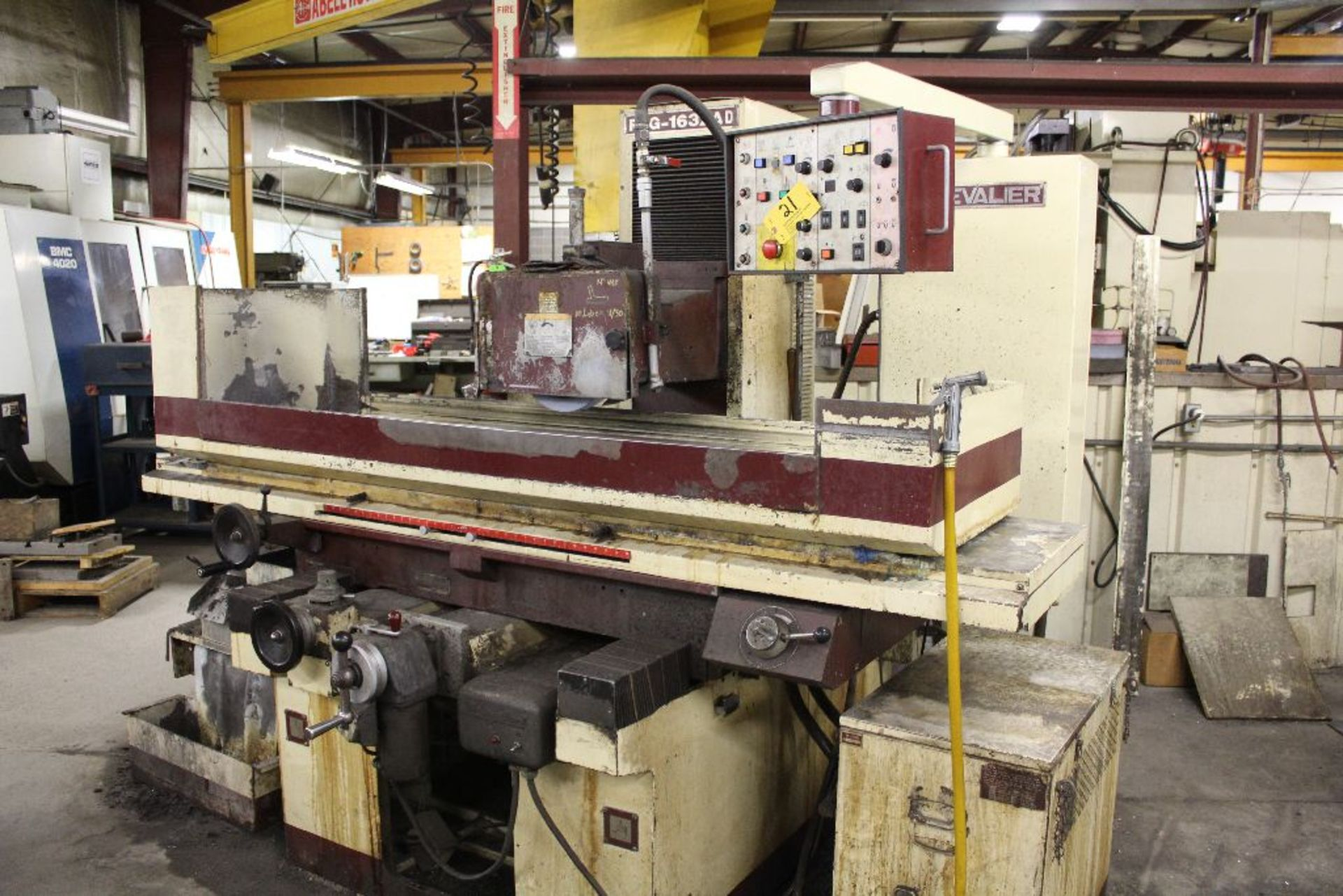 """Lot 021 - Chevalier surface grinder, model FSG1632AD, sn G3847001, 32"""" x 16"""" magnetic chuck."""
