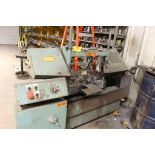 """W. F. Wells horizontal cut-off saw model W-9-1, sn 4881, blade size, 1"""". Sells with owners"""