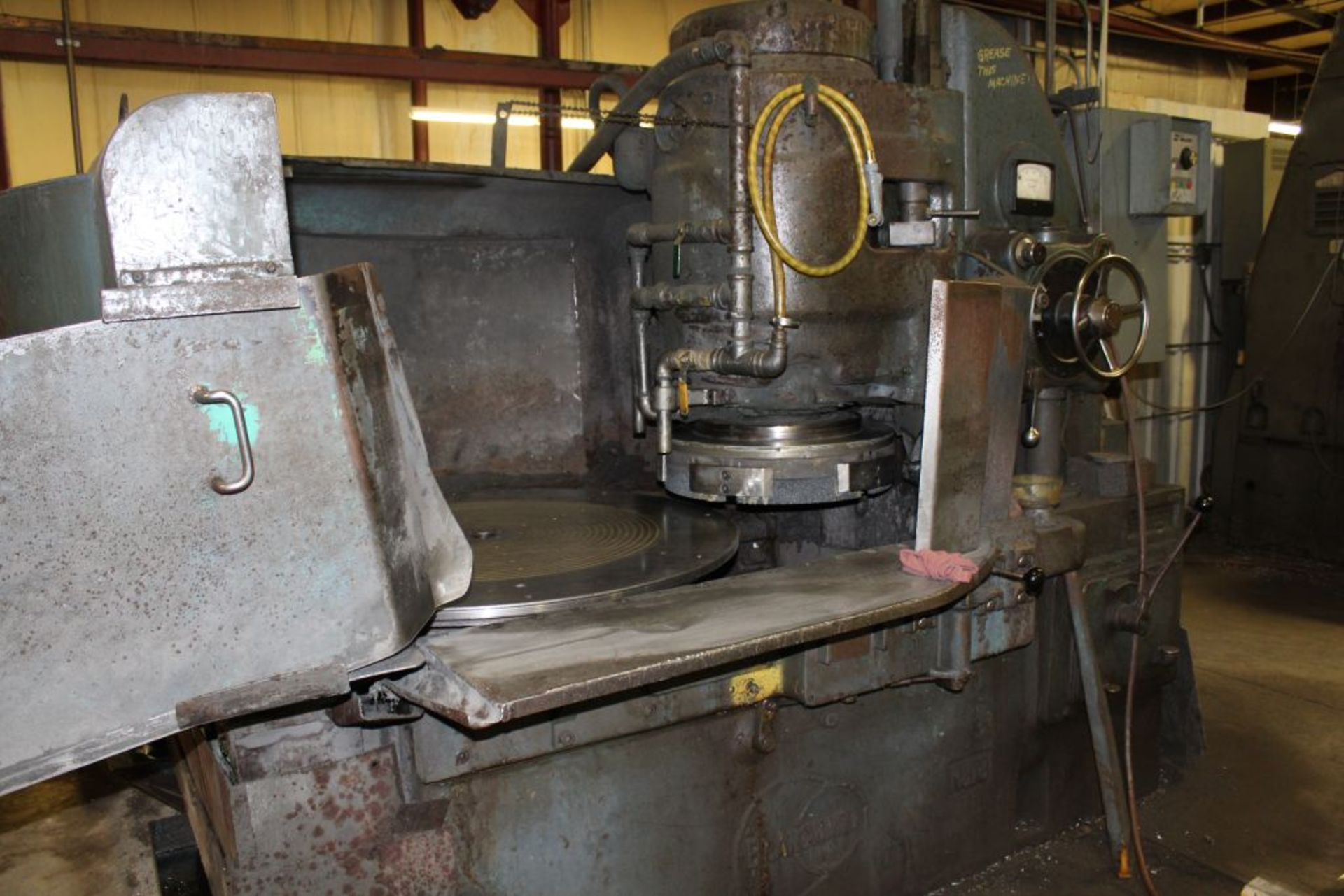 "Lot 030 - Blanchard grinder, model 18, sn 5825, 42"" diameter. Sells with owners confirmation."