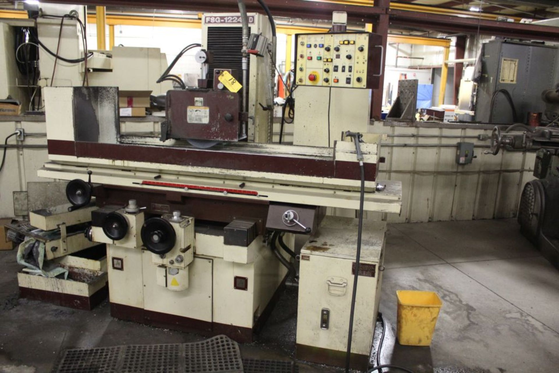 "Lot 018 - Chevalier Surface grinder, model FSG-1224AD, sn F1871004, 16 x 32"", magnetic chuck 24"" x 12""."