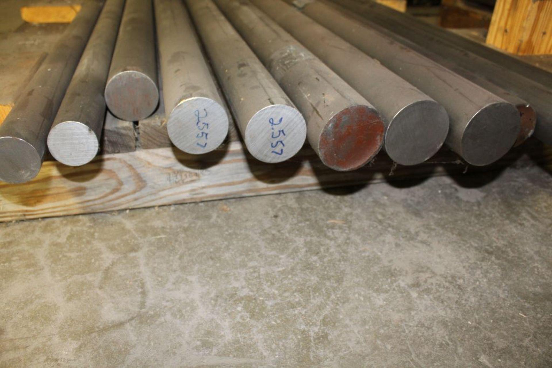Lot 393 - Iron metric round bars.