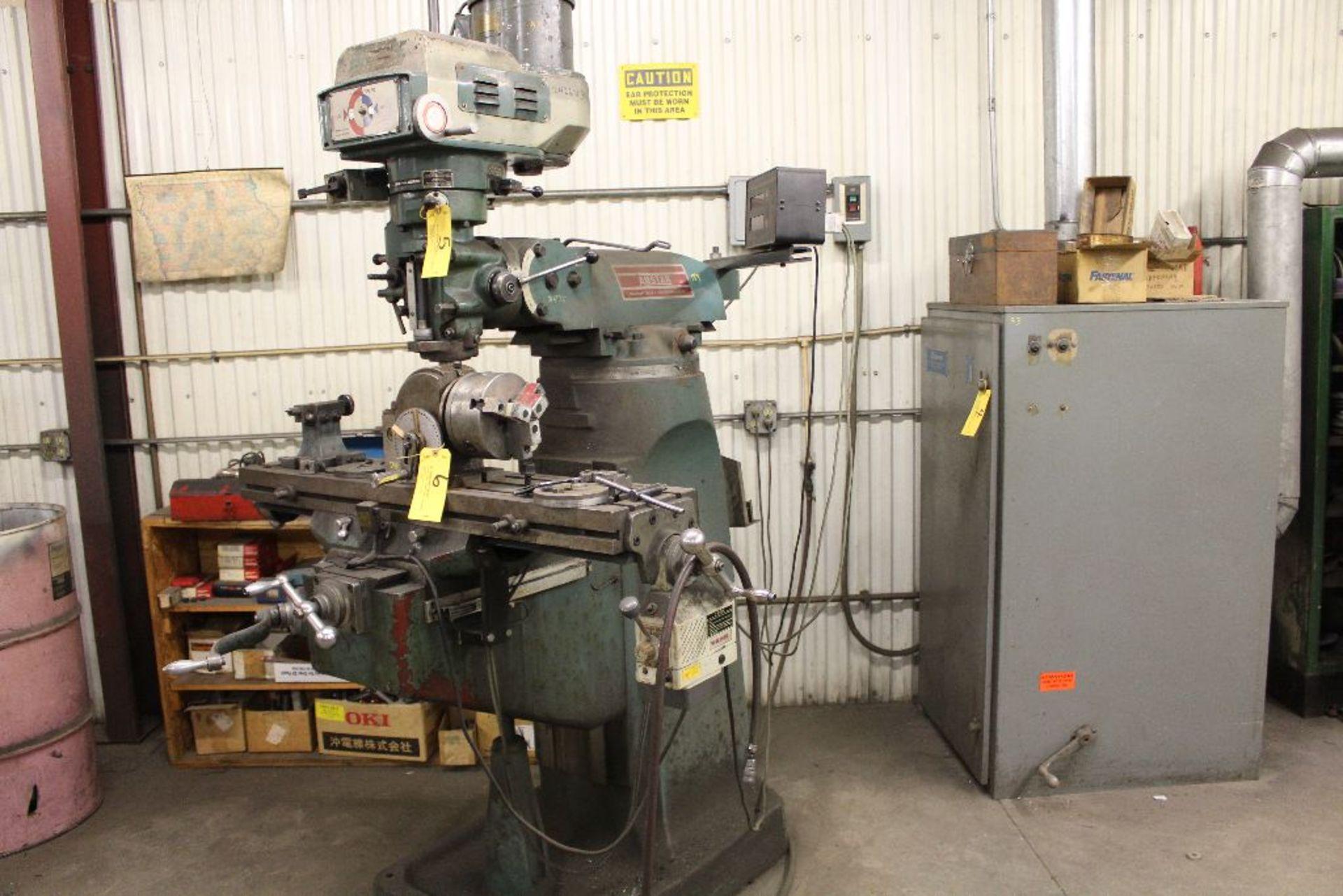 Lot 005 - Amstar vertical mill model BPV3942, sn 9165.