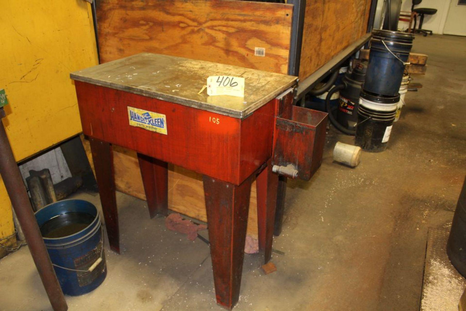 Lot 406 - Handi-Kleen parts washer.
