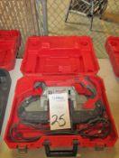 "Milwaukee Model Cat 6232-7 5"" W x 5""D Portable Band Saw"