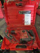 Hilti Model TE 30C Quick Change Chuck Rotary Hammer Drill