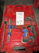 Hilti Model TE 7 Chipping Rotary Hammer Drill