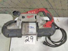 "Milwaukee Model Cat 6230-20 5"" W x 5""D Portable Band Saw"