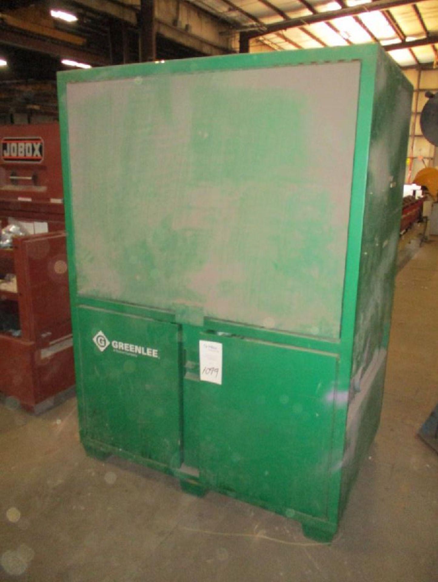 Lot 1099 - Greenlee Model 8060DLX 116.5 Cu Ft Field Office Cabinet