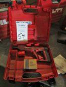Hilti Model DX E72 Powder Actuated Nailer