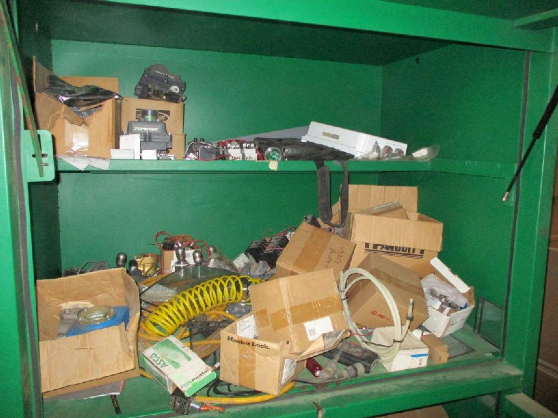 Lot 1102 - Greenlee Model 8060DLX 116.5 Cu Ft Field Office Cabinet