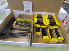 Lot of Holo-Chrome Assorted Allen Wrench