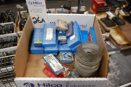 Assorted Carbide Inserts and Tooling