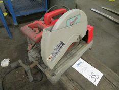 "Milwaukee Model 6180-20 14"""" Cut Off Saw"