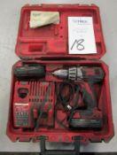 Milwaukee Model 2601-20 Cordless Drill