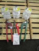 "Greenlee Model 865 2"""" PVC Pipe Cutter"