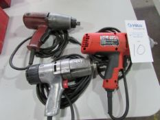 """Heavy Duty 1/2"""" Drive Electric Impact Wrenches"""