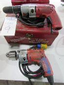 Milwaukee Electric Drills