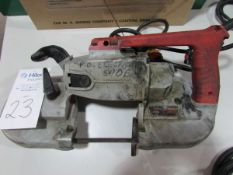 Milwaukee Cat # 6227 Heavy Duty VS Electric Portable Band Saw