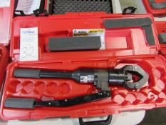 Burndy Products Model Y644HS Hydraulic Hand Operated Compression Hand Tools