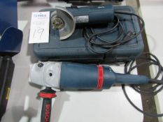 Bosch Heavy Duty Electric Angle Grinders