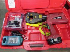 Burndy Products Model Patriot PAT81KFT-18V 18V Cordless Electric Compression Hand Tools