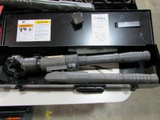 FCI Model Y644M Burndy Hypress Hydraulic Hand Operated Dieless Compression Hand Tools
