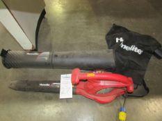 Homelite Model UT42120 2 Speed Electric Blower