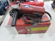 """Milwaukee Cat # 6145 4-1/2"""" Electric Angle Grinder"""
