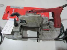 Milwaukee Cat # 6225 Heavy Duty Electric Portable Band Saw