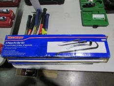 Westward Model 4PM09 4 Pc. Pry Bar Sets