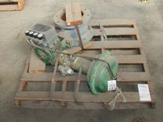 """Fisher Type V150 SER B 8"""" Pneumatic Actuated Ball Valve"""