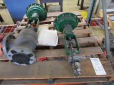 """Fisher Type AA 3"""" Pneumatic Actuated Ball Valve"""