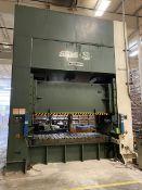 Seyi Model HSD-H-550-3 550-Ton Straight Side Double Crank Press