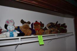 Assorted Stuffed Animals