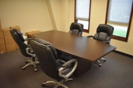 Assorted Conference Room Furniture