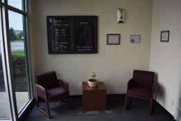 Assorted Reception Furniture