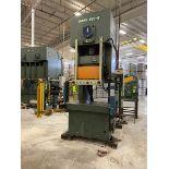Seyi-Sutherland Model Mark-220-W 220-Ton Single Point Gap Frame Press