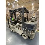 Komatsu Model 45-PG-45ST-6 10,000 Lb. LPG Forklift Truck