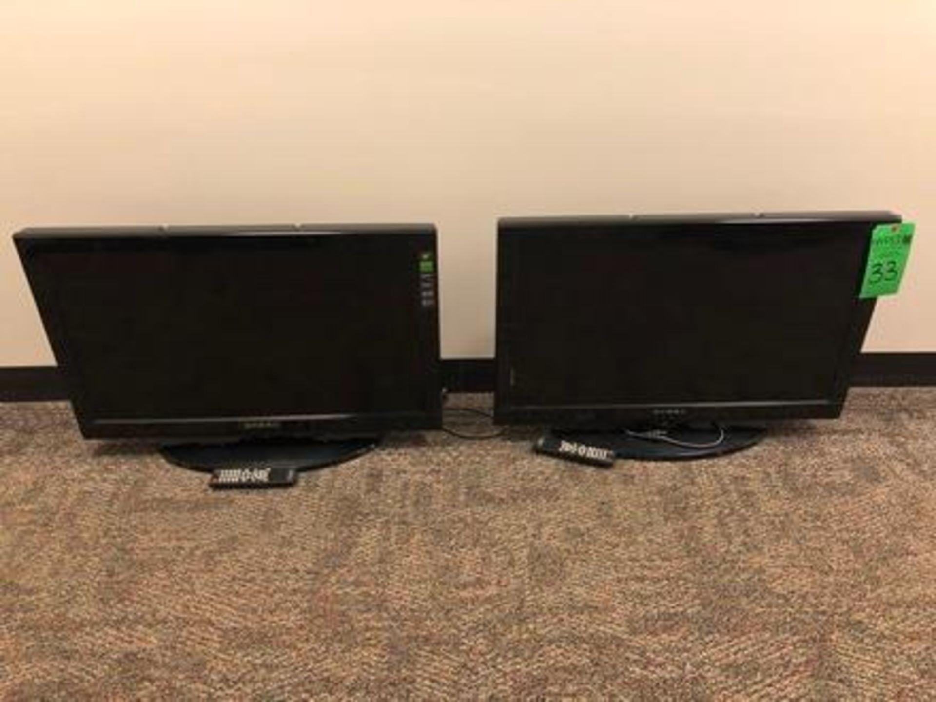 "Lot 33 - (2) Dynex 32"" DX-32L200NA14 LCD Monitor"