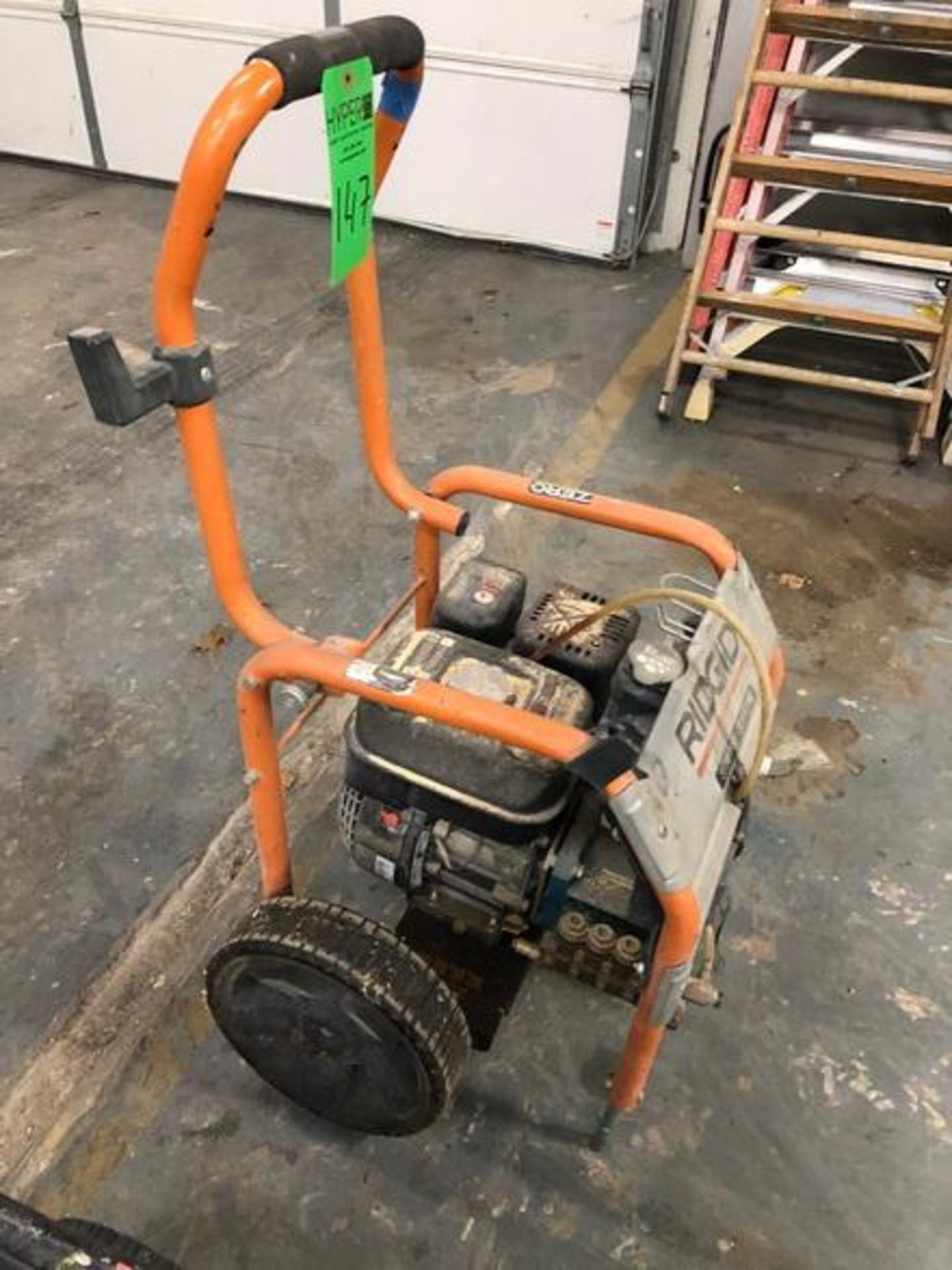 Lot 147 - Ridged 3,000 PSI 2.6 GPM Portable Gas Powered Pressure Washer