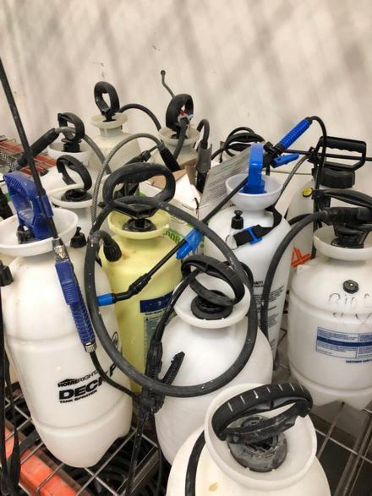 Lot 75 - Assorted 1.5 Gal Pump Sprayers