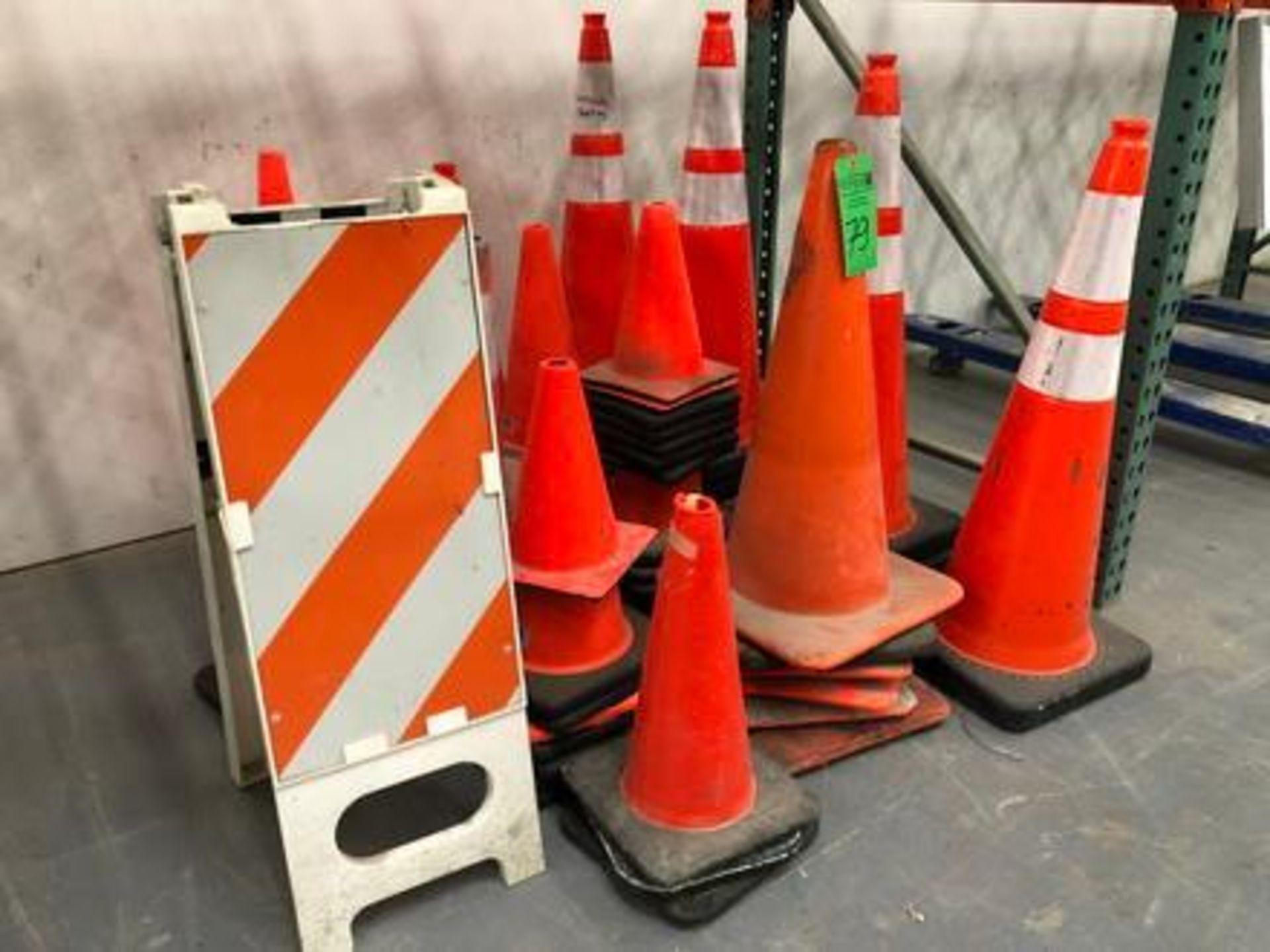 Lot 79 - Assorted Caution Cones